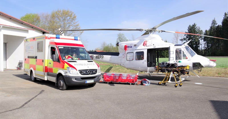 Air Ambulances Offer Preliminary Emergency Medical Care