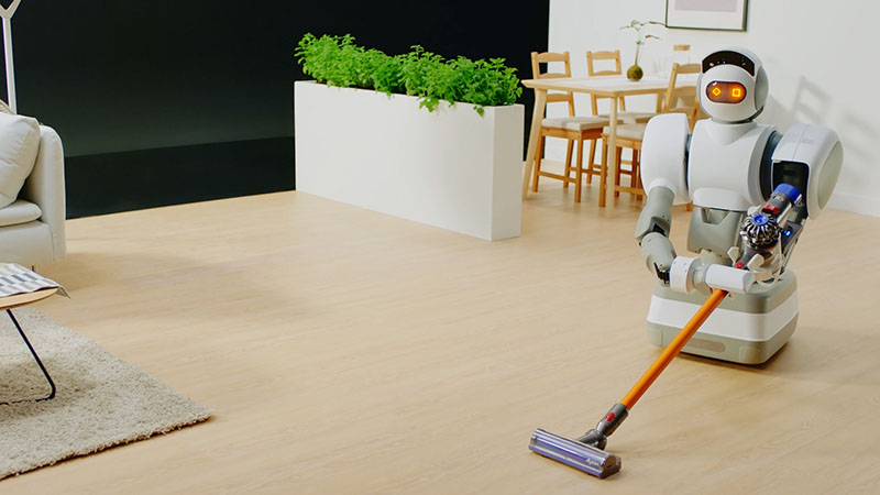 Cleaning Robots Helps in Cleaning the Floor and Lawn