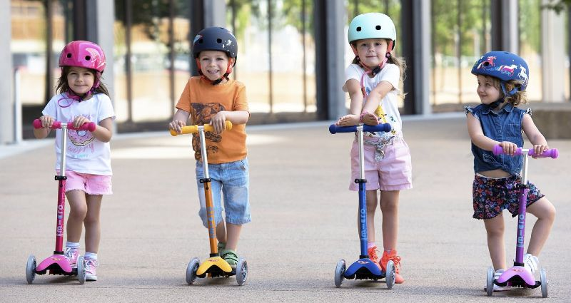 Kids Scooter Riding Enhance Body Functions and Power