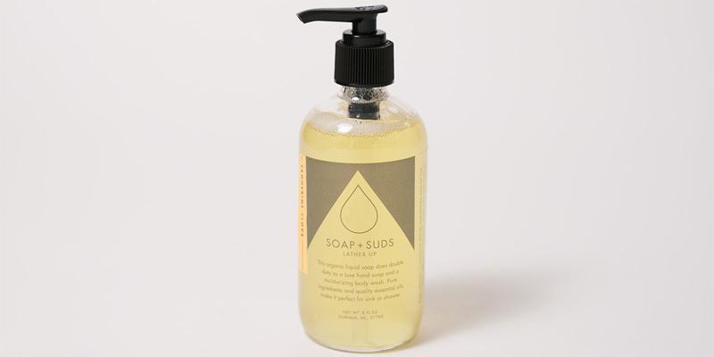 Organic Liquid Soap Keeps Skin Moisturized and Soft