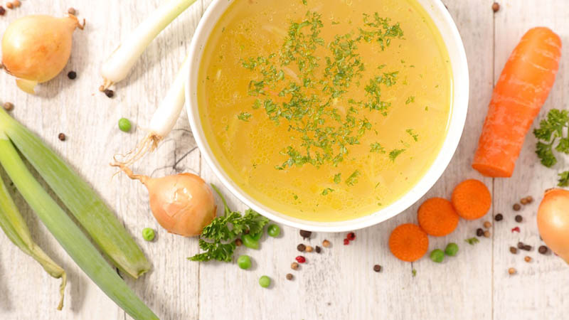 Packaged Soup Nutritious Meal and Rich Source of Vitamin